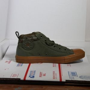 Converse All Star Mid Combat Zone Casual Sneakers